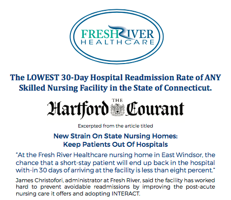 Lowest readmission rate