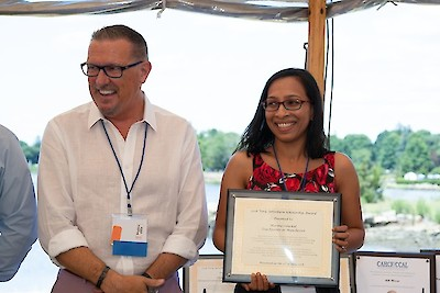 iCare Health Network, Connecticut Association of Health Care Facilities, Vera Arterburn Scholarship, Annual Meeting, Marina Odackal