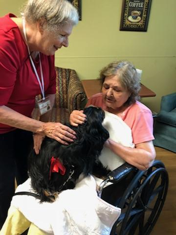iCare Health Network, Touchpoints at Farmington, Touchpoints Rehab, Pet Therapy