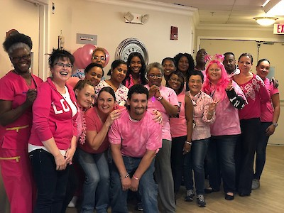 Chelsea Place Care Center, iCare Health Network, Pink Party, Breast Cancer Research