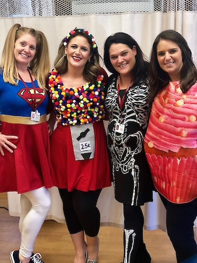 iCare Health Network, Touchpoints Rehab, Touchpoints at Chestnut, Halloween Celebrations, 2018