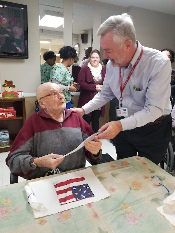 Silver Springs Care Center, iCare Health Network, Veteran's Day 2018