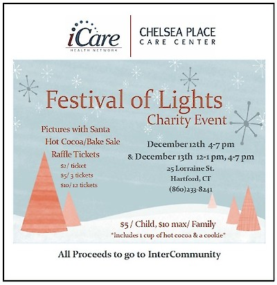 Chelsea Place Care Center, iCare Health Network, Festival of Lights Charity Event