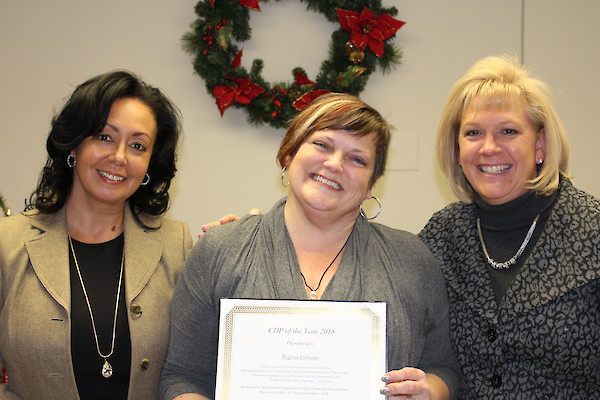 Regina Estrada, Certified Dementia Practitioner of the Year, Silver Springs Care Center, iCare Health Network