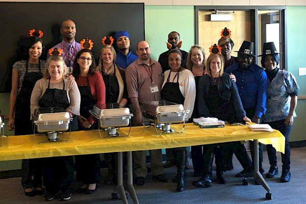 iCare Health Network, Touchpoints at Bloomfield, Touchpoints Rehab, Thanksgiving 2019